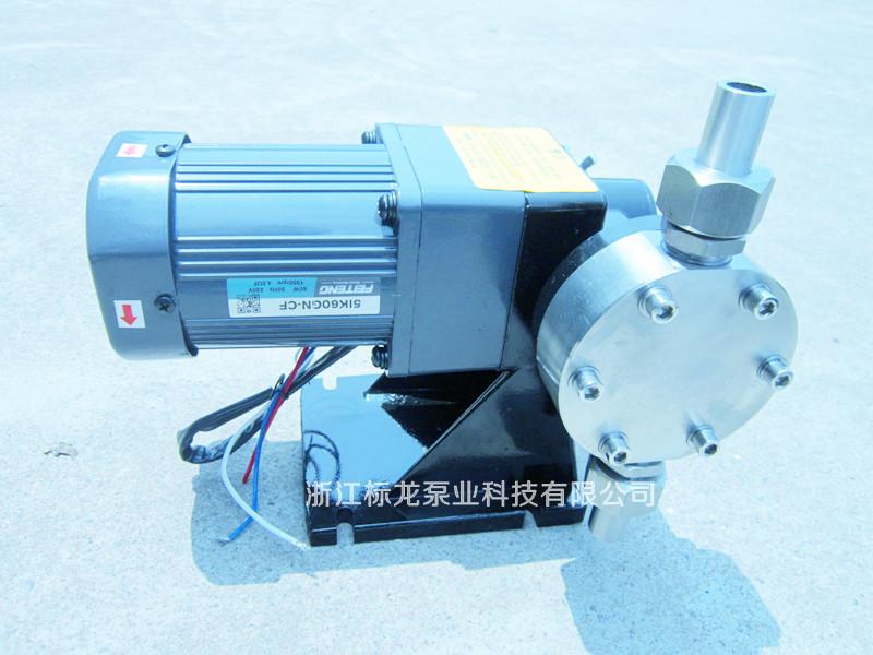 JGX系列304机械隔膜计量泵
